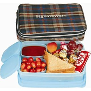Signoraware Compact Lunch Box with Bag