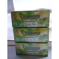 GREEN TEA FROM DARJEELING BUY 3 GET 3 FREE 25X6=150 TEA BAGS FROM CHAMONG