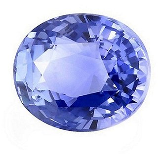 Jaipur Gemstone 8.25 ratti Blue Sapphire(neelam)