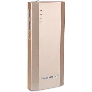 Ambrane P-1111 10000mAh Power Bank (Gold)