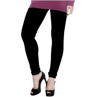 BrandTrendz Black woollen legging (for Women / Girls)