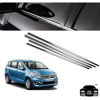Buy Trigcars Maruti Suzuki Ertiga new Car Window Lower Garnish Chrome Online - Get 57% Off