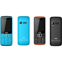 Trio T6 Blue Black & Black Orange (2.4 Inch, 1000 MAh B