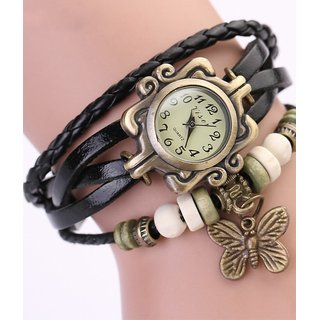 Vintage Round Dial Analog Womens Watch BY MISS