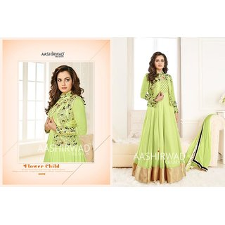HEAVY Georgette n mono net n Spun cotton Najmin Dupatta (Unstitched)