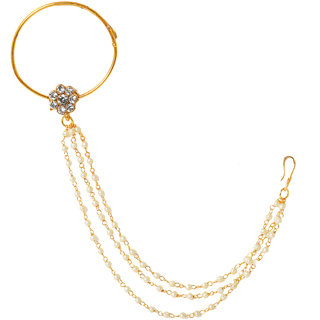 Penny Jewels Multi Aashiqui Alloy Nath (Nose Pin)