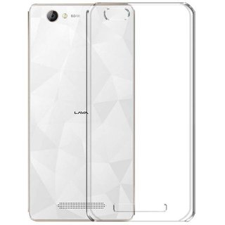 Lava A72 / Lava A72 (4G) Transparent Crystal Clear Back Cover