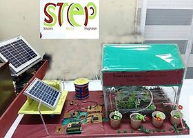 Automatic irrigation system  With Solar System
