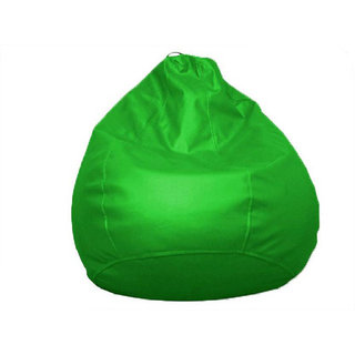 UK Bean Bags Classic Bean Bag Cover Green Size L