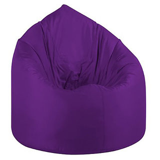 e55d449aa1 Buy UK Bean Bags Classic Bean Bag Cover Purple Size L Online - Get 70% Off