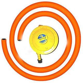 lpg gas regulator pipe steel grip for bharat gashp gasindane at best