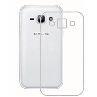 Soft Silicon Transparent Back cover for Samsung Galaxy J5