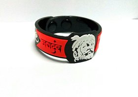 Chathrapathi Shivaji Wristband 18mm for men with push button