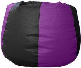 UK Bean Bags Classic Bean Bag Cover Purple/Black Size L