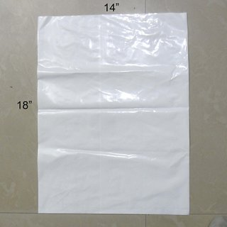 Buy Milky White Packing Poly Bag 18x14 1 Kilo 65 Pcs