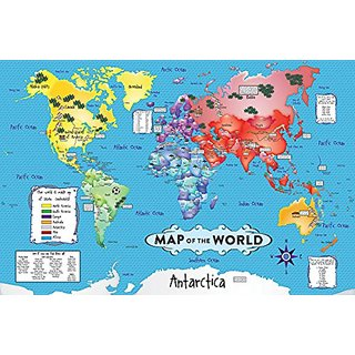 Buy white mountain puzzles world map 36 piece jigsaw puzzle online white mountain puzzles world map 36 piece jigsaw puzzle gumiabroncs Gallery