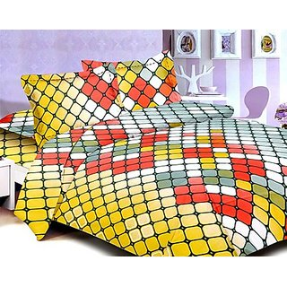 Story @ Home Voguish 100 % Cotton Magic Double Bed Sheet