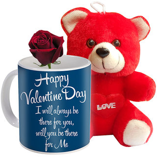 Buy Sky Trends Valentine Special Combo Gift For Girlfriend Printed