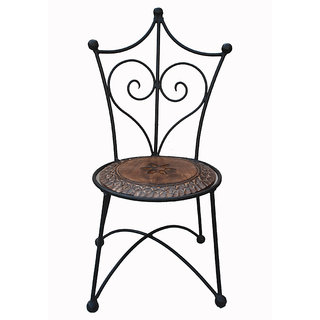 Shopnline S Wrought Iron Chair Design 1 Prices In India Shopclues