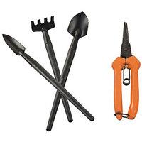 Falcon Bonsai Mini - Garden Tool Kit - 4 Pcs Tool Set