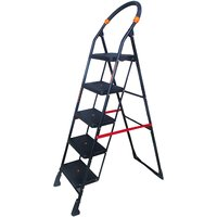 Talcoo Wide Step Folding Ladder- 5 steps