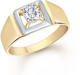 VK Jewels Gold Plated Gold Alloy Ring for Women