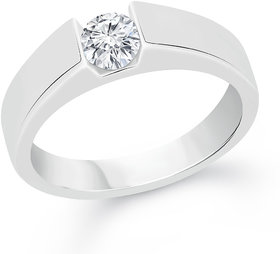 VK Jewels Silver Plated Silver Ring For Women