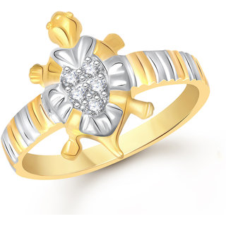 VK Jewels Gold Alloy Gold Plated Ring For Women