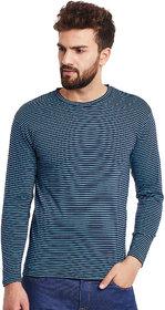 Hypernation Striped Men's Round Neck T-shirt