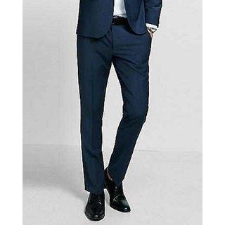 Thread Swag Men's Slim Fit Track Pant - Black