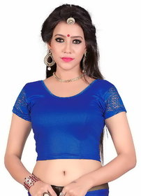 Sr Studio Women'S Designer Party Wear Collection Low Price Sale Offer Readymade Stretchable Saree Blouses