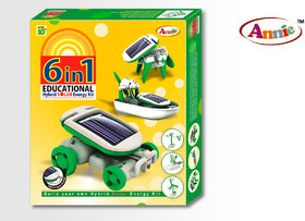 Annie 6 in 1 Solar Energy Kit for Kids Series 1 CODEDq-0206