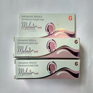 Melnor Whitening & Fairness Skin Whitening Anti-Wrinkle Cream For All Skin Types 20g  (No of Units 2)