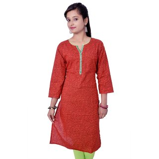 Akarshn collection designer printed casual ehtnic Womens kurti