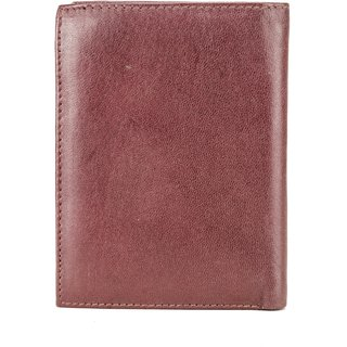Deeya Brown Genuine Leather Wallet Wallets