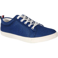 Vandeu Men Blue Lace-up Casual Shoes