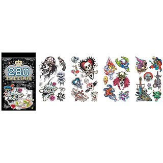 New fashion Tatto Book (Set of 3 Sheets.) 30 Plus Tattos