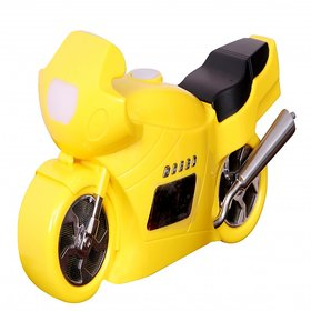 Cool Bike shaped MP3 player Micro SD/TF USB disk FM Radio music speaker