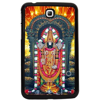 Fuson Golden Designer Phone Back Cover Samsung Galaxy Tab 3 (Lord Venkateswara)
