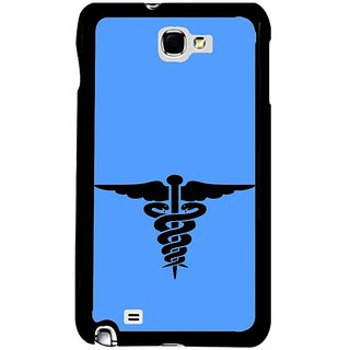 Fuson Blue Designer Phone Back Cover Samsung Galaxy S5 (The Symbol For Medical Care)