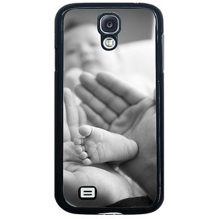 Fuson Multi Designer Phone Back Cover Samsung Galaxy S4 I9500 (Baby Steps)