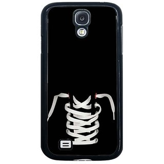 Fuson Black Designer Phone Back Cover Samsung Galaxy S4 I9500 (Get Ready For A Fight)