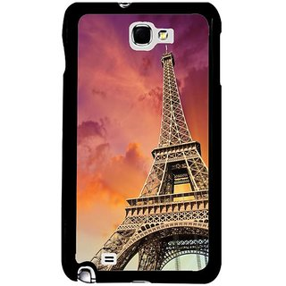 Fuson Red Designer Phone Back Cover Samsung Galaxy S5 (Visting The Monuments)