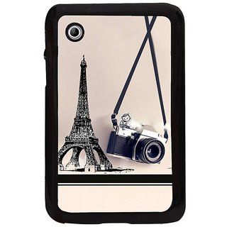Fuson White Designer Phone Back Cover Samsung Galaxy Tab 2 (The European Fantasy)