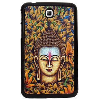 Fuson Green Designer Phone Back Cover Samsung Galaxy Tab 3 (Gauthama Buddha In The Woods)