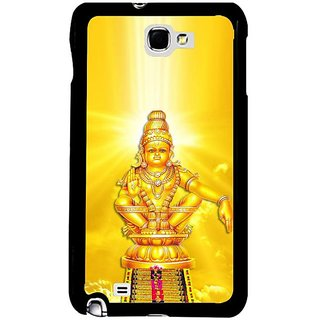 Fuson Golden Designer Phone Back Cover Samsung Galaxy S5 (Gold Statue Of Lord Ayyappa)