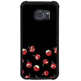 Fuson Red Designer Phone Back Cover Samsung Galaxy S6 G920I (A Colourful Sight)