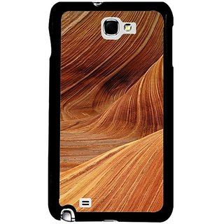 Fuson Brown Designer Phone Back Cover Samsung Galaxy S5 (Sand Dunes)