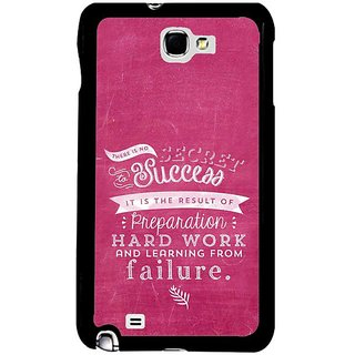 Fuson Pink Designer Phone Back Cover Samsung Galaxy S5 (Learning From Failure Gives Success)