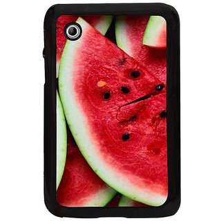 Fuson Multi Designer Phone Back Cover Samsung Galaxy Tab 2 (A Slice Of Watermelon)